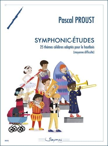 Symphonic-Etudes - Hautbois - Pascal Proust - laflutedepan.com