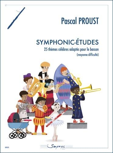 Symphonic-Etudes - Basson - Pascal Proust - laflutedepan.com