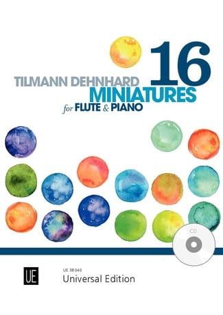 16 Miniatures - Tilmann Dehnhard - Partition - laflutedepan.com