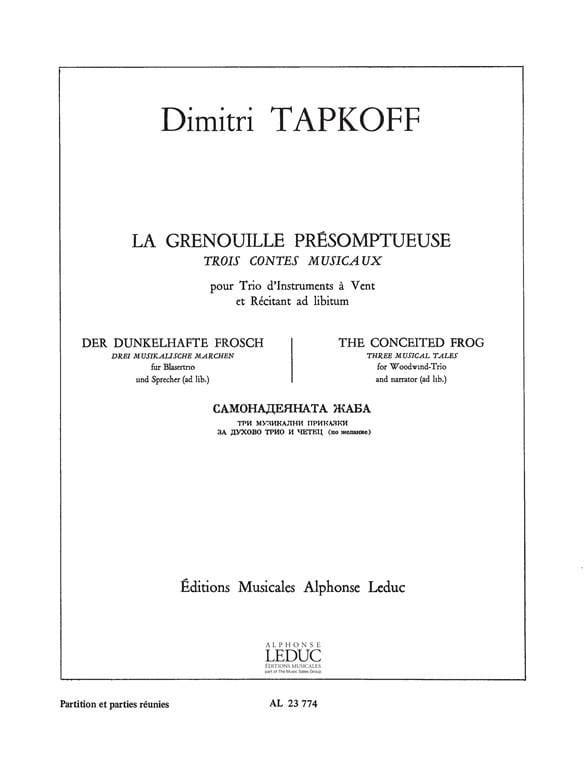 La Grenouille Présomptueuse - Dimitri Tapkoff - laflutedepan.com