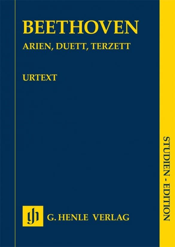 Arias, Duos, Trios - BEETHOVEN - Partition - laflutedepan.com