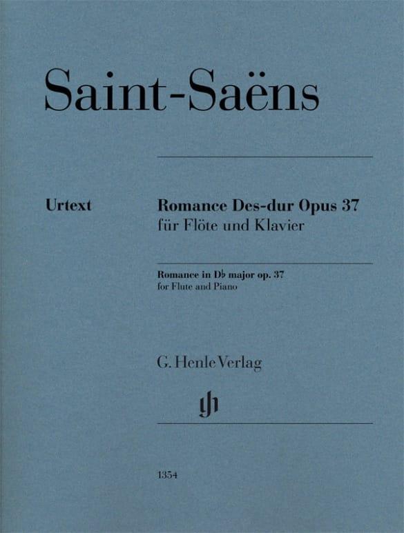 Camille Saint-Saëns - Romance, opus 37 - Partition - di-arezzo.es