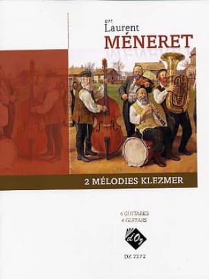 2 Mélodies Klezmer - Laurent Méneret - Partition - laflutedepan.com
