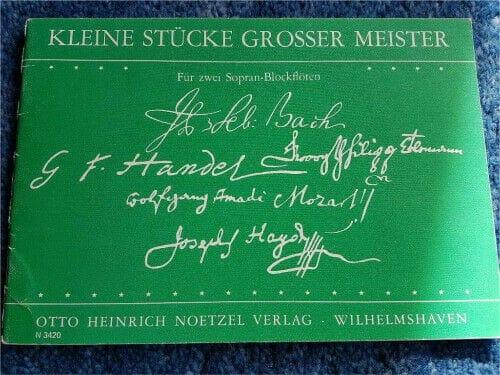 Kleine Stücke Grosse Meister - Auteurs Divers - laflutedepan.com