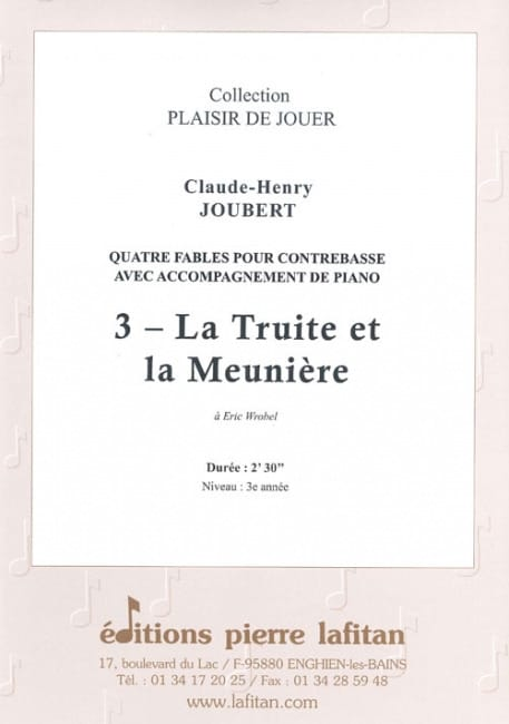 Claude-Henry Joubert - Trout and miller - Partition - di-arezzo.com
