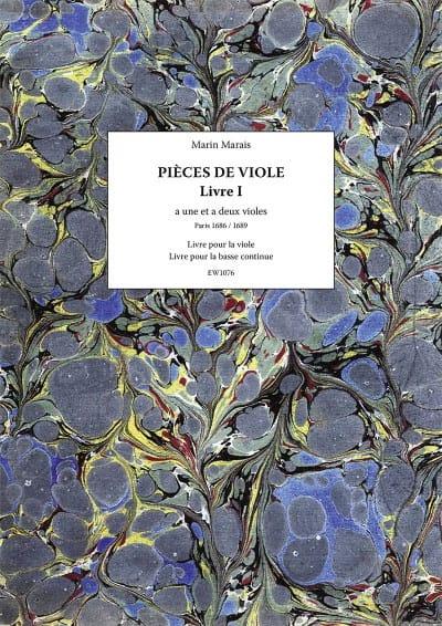 Marin Marais - Pieces of Viola - Book 1 - Partition - di-arezzo.com
