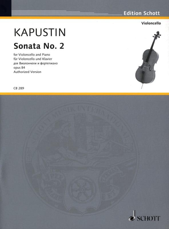 Sonata No. 2 - Nikolai Kapustin - Partition - laflutedepan.com