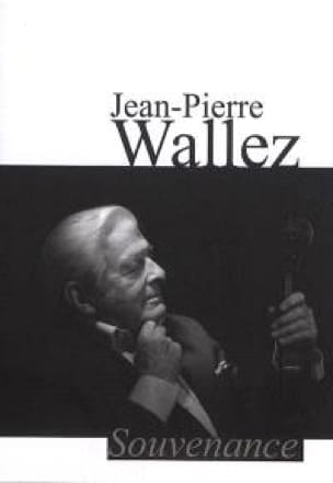 Souvenance - Jean-Pierre Wallez - Partition - laflutedepan.com