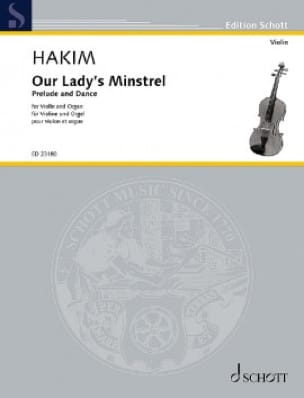 Our Lady's Minstrel - Naji Hakim - Partition - laflutedepan.com