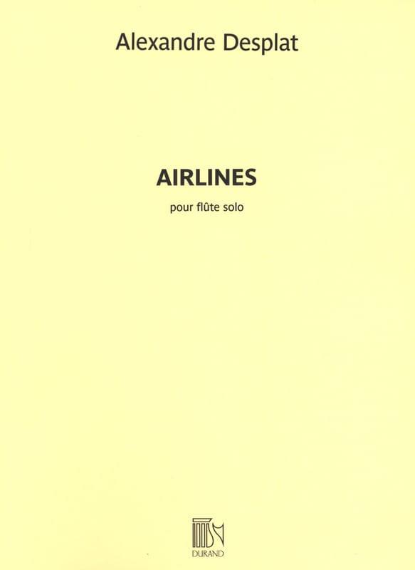 Airlines - Alexandre Desplat - Partition - laflutedepan.com