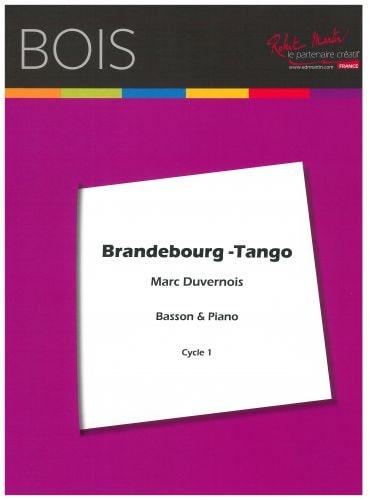 Brandebourg Tango - Marc Duvernois - Partition - laflutedepan.com