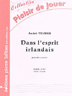 Dans l'esprit irlandais - André Telman - Partition - laflutedepan.com