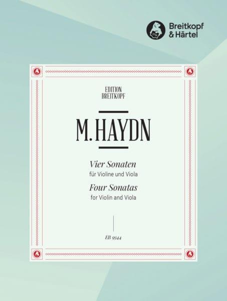 Michael Haydn - 4 Sonates - Violon et Alto - Partition - di-arezzo.fr