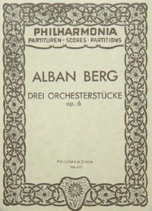 3 Orchesterstücke op. 6 - Partitur - BERG - laflutedepan.com