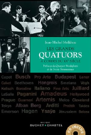 Jean-Michel Molkhou - The great string quartets of the 20th century - Livre - di-arezzo.com
