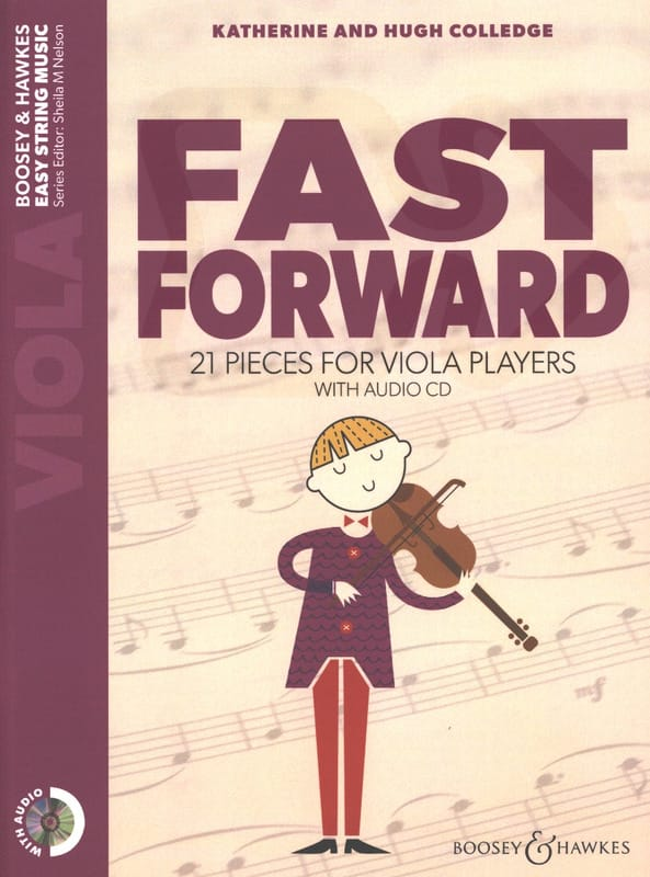 Katherine & Hugue Colledge - Fast Forward - Viola - Partition - di-arezzo.fr