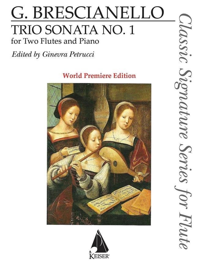 Giuseppe Antonio Brescianello - Sonata n ° 1 - Partition - di-arezzo.co.uk