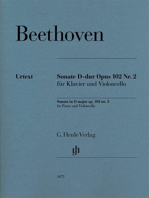 Ludwig van Beethoven - Sonate, Opus 102 Nr. 2 - Partition - di-arezzo.de