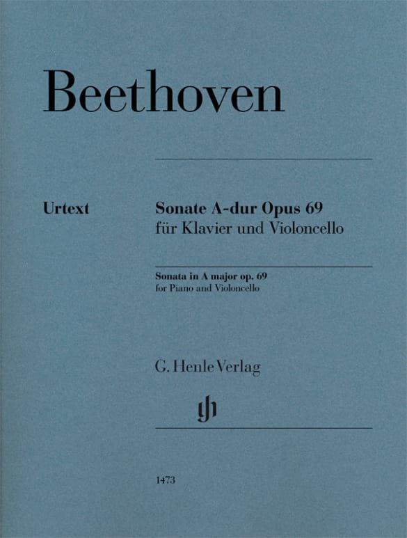 Ludwig van Beethoven - Sonate, Opus 69 - Partition - di-arezzo.de