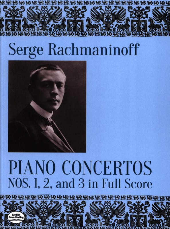 Sergei Rachmaninov - Piano Concertos Nos. 1, 2 and 3 - Partition - di-arezzo.co.uk