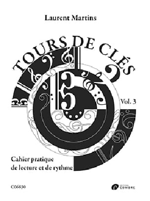 Laurent Martins - Tours de Clés - Volume 3 - Partition - di-arezzo.ch