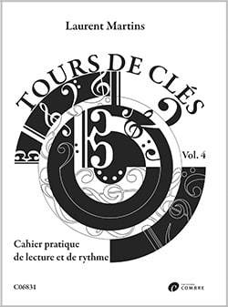 Laurent Martins - Tours de Clés - Volume 4 - Partition - di-arezzo.fr