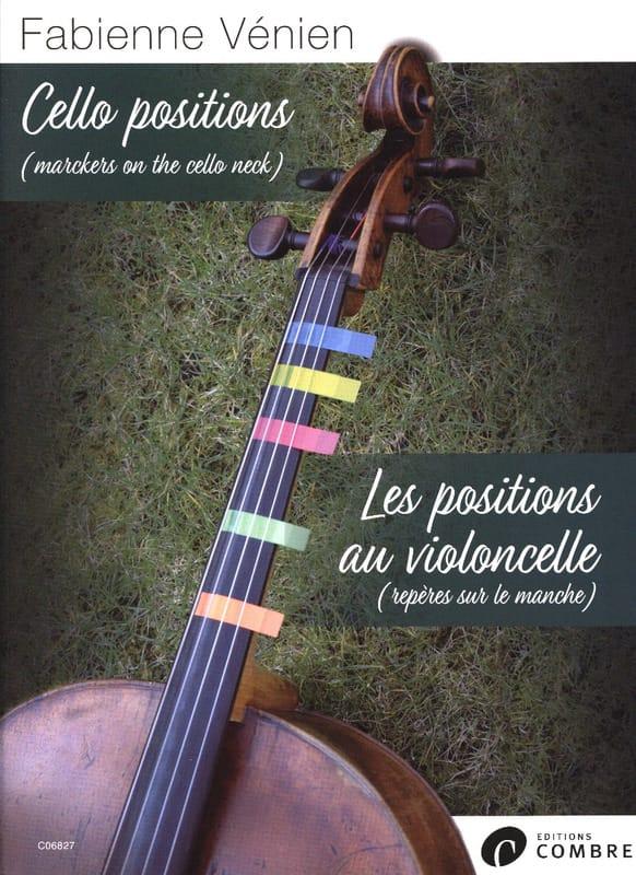 Fabienne Vénien - Cello Positions - Partition - di-arezzo.co.uk