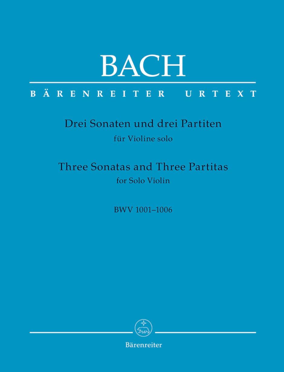 Johann Sebastian Bach - Partition - di-arezzo.co.uk