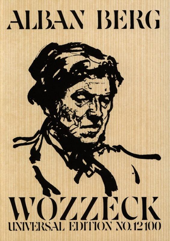 Alban Berg - Wozzeck, Opera - Conductor - Partition - di-arezzo.co.uk