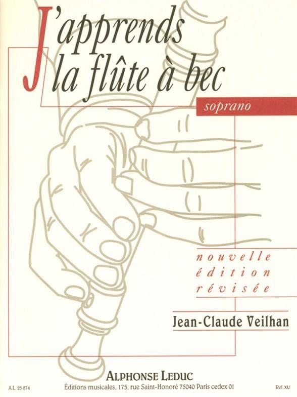 Jean-Claude Veilhan - Estoy aprendiendo Soprano Recorder - Partition - di-arezzo.es
