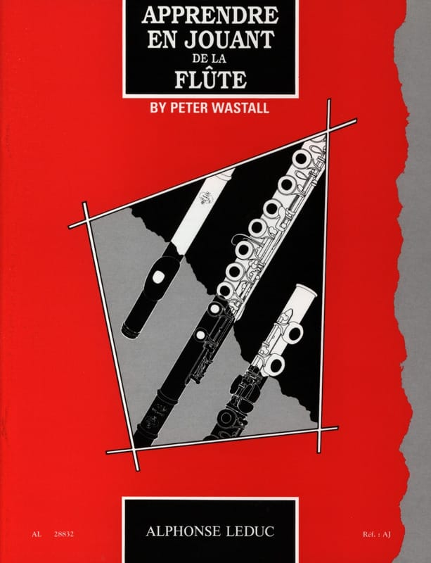 Peter Wastall - Learn by playing the flute - Partition - di-arezzo.com