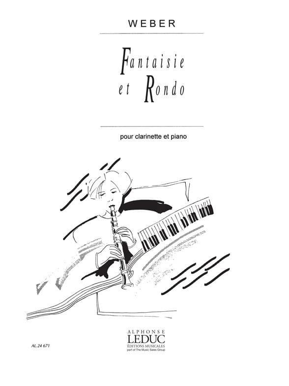 Carl Maria von Weber - Fantasy and Rondo op. 34 - Partition - di-arezzo.co.uk