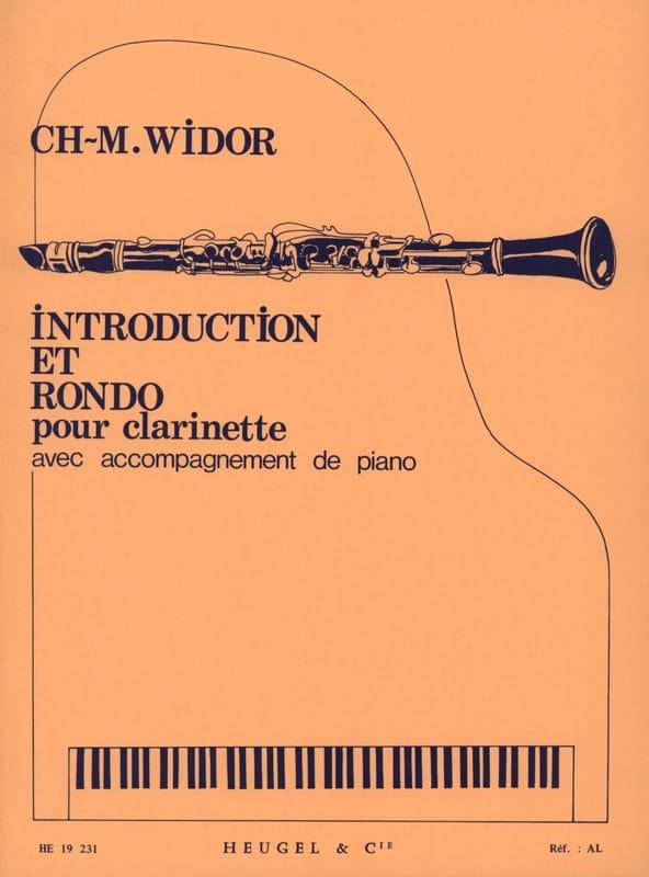 Introduction et Rondo - WIDOR - Partition - laflutedepan.com