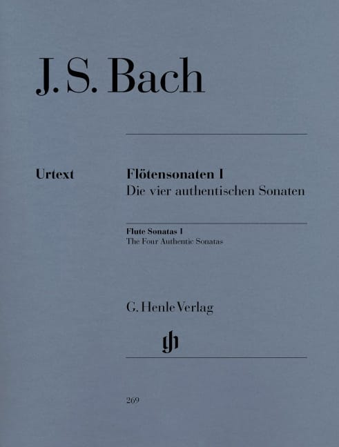 BACH - Sonatas for flute, volume 1 - Partition - di-arezzo.co.uk