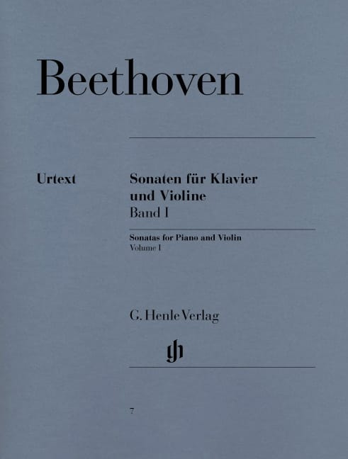 BEETHOVEN - Sonatas for violin, volume 1 - Partition - di-arezzo.com