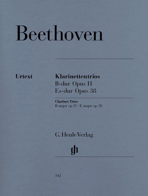 Trios avec Clarinette en Sib Maj. op. 11 et Mib Maj. op. 38 - laflutedepan.com