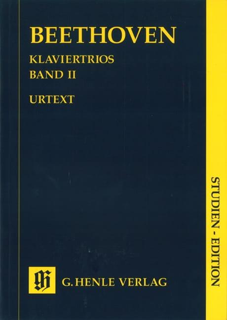 Trios avec piano, volume II - BEETHOVEN - Partition - laflutedepan.com