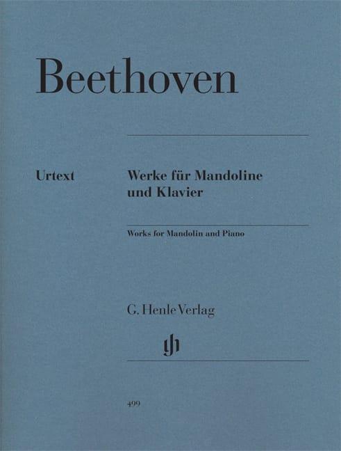 Oeuvres pour mandoline et piano - BEETHOVEN - laflutedepan.com