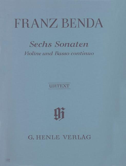 Sechs Sonaten für Violine und Basso Continuo - laflutedepan.com
