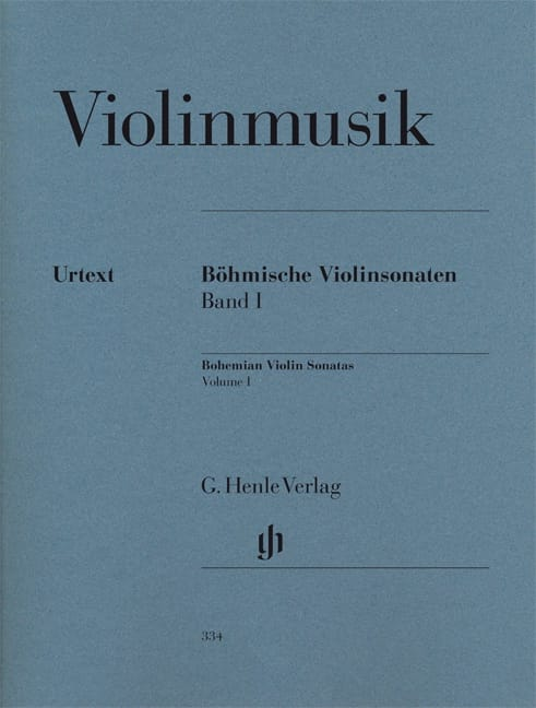 Sonates de Bohème pour violon, volume 1 - laflutedepan.com