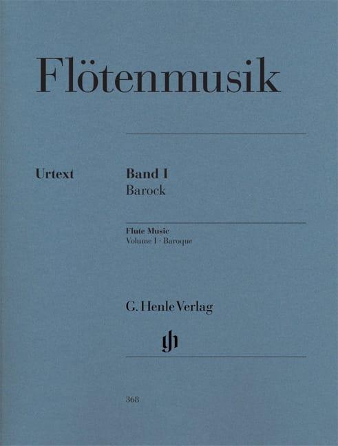 Musique pour flute 1 : baroque - Partition - laflutedepan.com