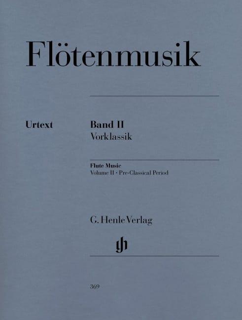 Musique pour flûte, volume 2 : Préclacissisme - laflutedepan.com