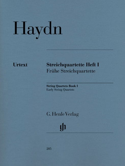 HAYDN - Volume I String Quartets Beginning Quartets - Partition - di-arezzo.co.uk