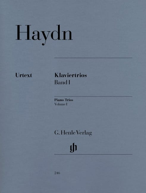 HAYDN - Trios with piano, volume 1 - Partition - di-arezzo.co.uk