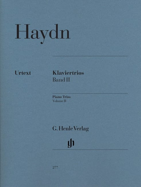HAYDN - Piano Trios, Volume 2 - Hob. 15: 5-14 - Partition - di-arezzo.co.uk