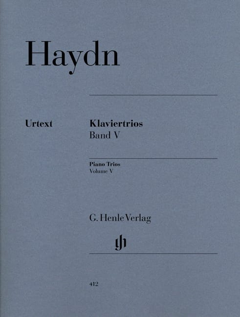 HAYDN - Trios with piano, volume 5 - Partition - di-arezzo.co.uk