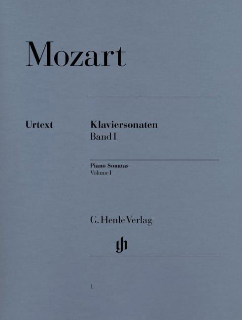 Klaviersonaten, Bd I - MOZART - Partition - laflutedepan.com