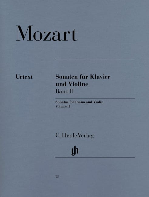 MOZART - Sonatas for violin, volume 2 - Partition - di-arezzo.co.uk