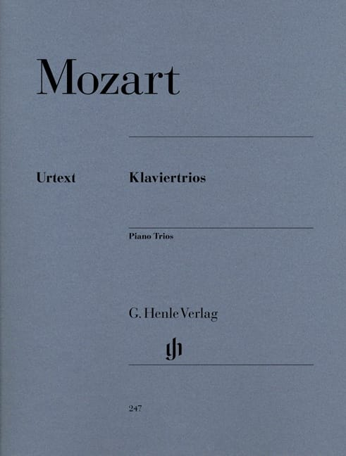 MOZART - Klaviertrios - Partition - di-arezzo.co.uk