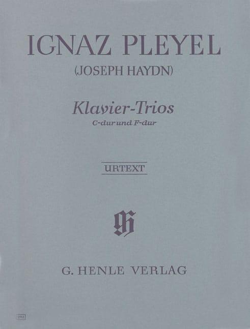 Trios avec piano attribués à Joseph Haydn - laflutedepan.com